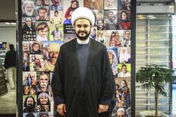 مؤتمر صحفي بحضور الشيخ أكرم الكعبي في وكالة مهر للانباء /صور