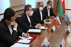 İran ve Azerbaycan Bakü'de Karabağ için bir araya geldi