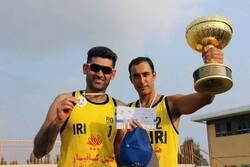 قهرمان تور ملی والیبال ساحلی بندرترکمن مشخص شد