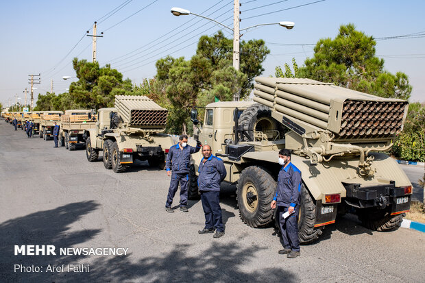 New equipment join Iranian Army Ground Force