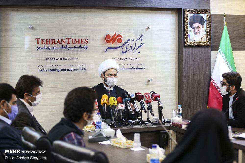 عراق کی مزاحمتی تنظيم نجباء کے سکریٹری جنرل کی صحافیوں کے ساتھ گفتگو