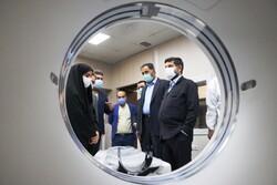 بخش سیتیاسکن بیمارستان سینا در کارون راهاندازی شد