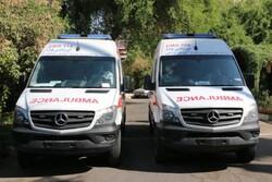 اختصاص ۶ دستگاه آمبولانس برای شهرستان های حوزه جنوبی ایلام