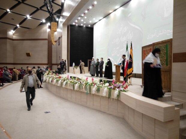 مراسم تحلیف فرماندهان بسیج دانشآموزی در مشهد