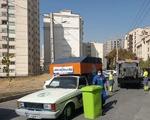 مخازن پسماند «تر» در محله پاک شمال تهران، جمع آوری شد