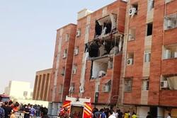 انفجار گاز چند خانه در مسکن مهر ماهشهر را تخریب کرد
