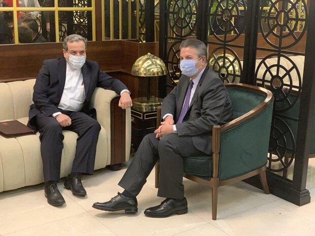 """مبعوث إيران الخاص لحل النزاع بشأن """"منطقة قرة باغ"""" يجري مباحثات مع مساعد الخارجية التركي"""