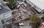 ویرانه های زلزله مهیب ترکیه را با تصاویر هوایی ببینید