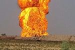 انفجار خط لوله گاز در جنوب عراق ناشی از حمله پهپادی بوده است