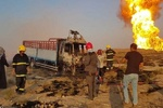 تفاصيل استهداف الانبوب الغازي ومقر الحشد بالمثنى بالطائرة المسیرة