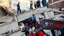 İzmir'deki depremden fotoğraflar