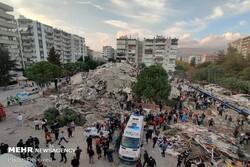 VIDEO: Aerial views of quake-damaged regions in Izmir, Turkey