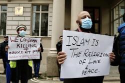 Muslims worldwide anger against Macron anti-Islam remarks