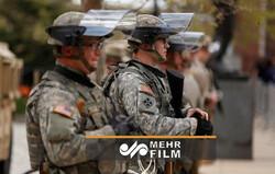 امریکی فوج امریکی عوام کے خلاف