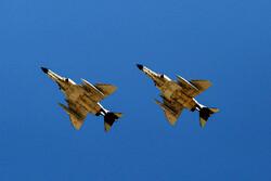 Hava Kuvvetlerinin başlattığı tatbikatın ilk gününden fotoğraflar