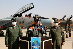 Iran Air Force begins military drill on Monday