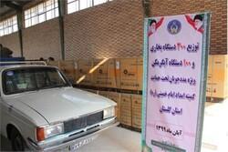 ۴۰۰ دستگاه لوازم گرمایشی به مددجویان مناطق محروم گلستان اهدا شد