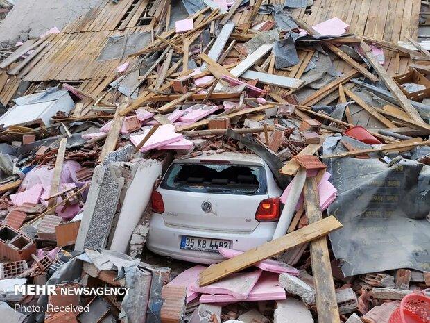 خسارت زلزله مهیب  6.6 ریشتری در ترکیه