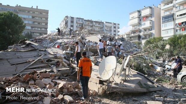 İzmir'deki depremde ölü sayısı arttı