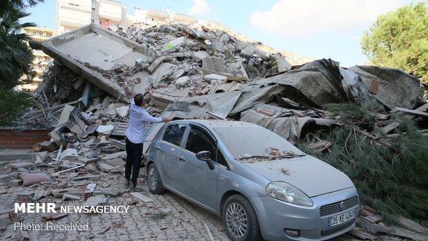 İzmir'deki depremde ölenlerin sayısı 24'e çıktı