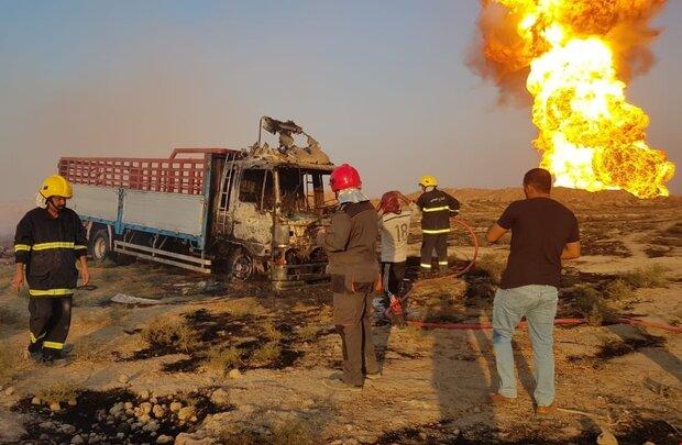Gas pipeline explodes near PMU base in Iraq's Al Muthanna