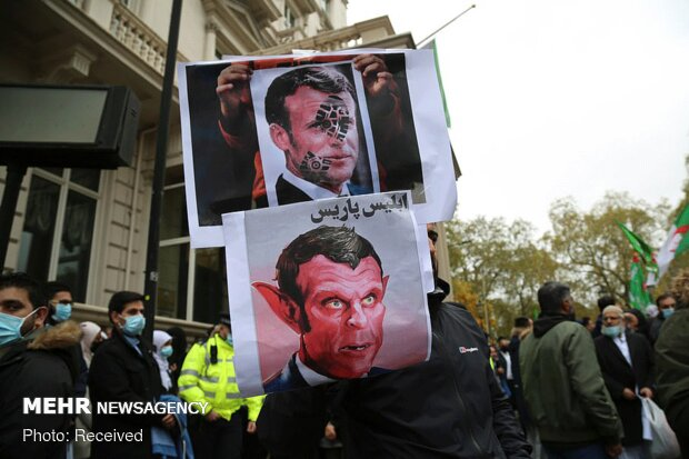 World Muslims demonstrations over Macron anti-Islam insults