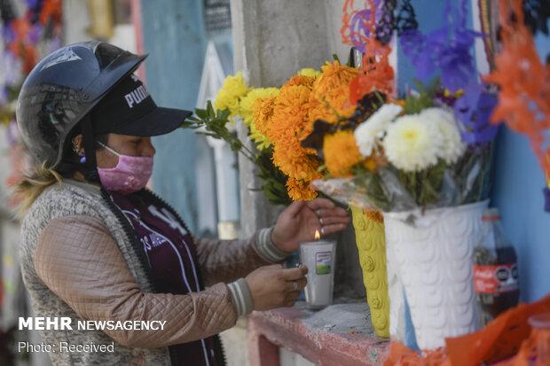 جشن روز مردگان در مکزیک