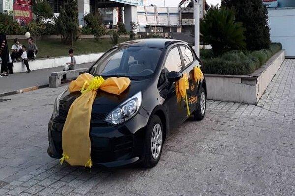 «پیمان پور ایواز» برنده خودرو کیا ریو از سومین جشنواره طلایی