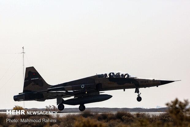 Dev tatbikatta F-5 ve Saika uçakları hedeflerini başarıyla vurdu