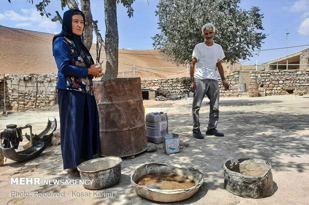 مشکل کم آبی روستاهای مختلف دهدز - خوزستان