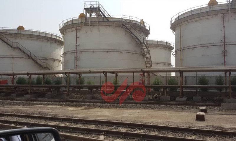 مخازن ساینا شیمی در بوشهر