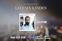 TRT Ankara radyosunda İran sineması söyleyişi