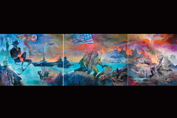 نمایش «جنایت علیه بشریت» در فرهنگستان هنر
