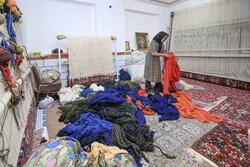 İran'da ip boyama mesleği