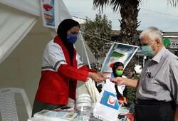 بهره مندی ۳.۵ میلیون نفر از خدمات هلال احمر در طرح آمران سلامت/جمعآوری ۵ میلیارد ریال کمک مردمی