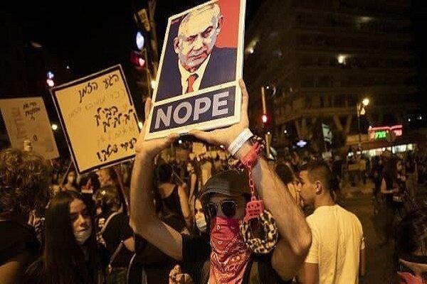 هزاران نفر علیه «بنیامین نتانیاهو» تظاهرات کردند