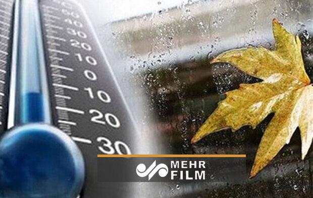 هوای ایران ۸ تا ۲۰ درجه سردتر می شود