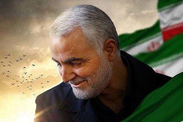 دیوارنگاره شهید سلیمانی رونمایی میشود