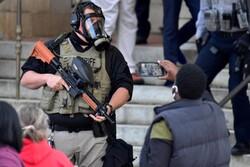 ABD federal güçleri protestoculara bölye saldırdı