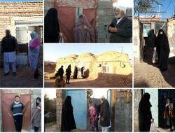 توزیع بستههای معیشتی مومنانه در روستاهای محروم تربتجام