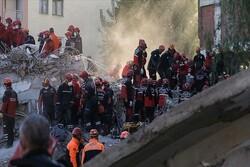 آفاد: شمار قربانیان زلزله ازمیر به ۹۱ نفر افزایش یافت