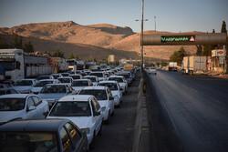 تردد ۳۸۳ هزار وسیله نقلیه در محورهای مواصلاتی لرستان