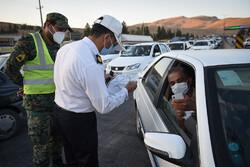 ۴۵۰ خودروی ناقض محدودیت تردد در زنجان جریمه شدند
