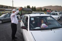 جریمه ۱۴۰ خودروی ناقض محدودیتهای تردد در زنجان