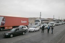 ممنوعیت ورود کامیون به شهر ساوه اجرایی شد