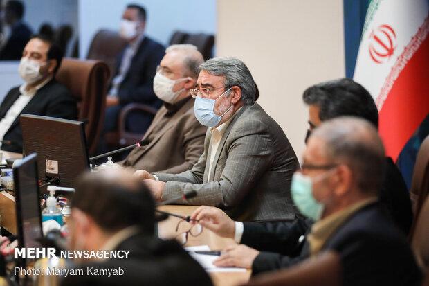 Interior Min. hosts COVID-19 Combat, Prevention HQ's meeting