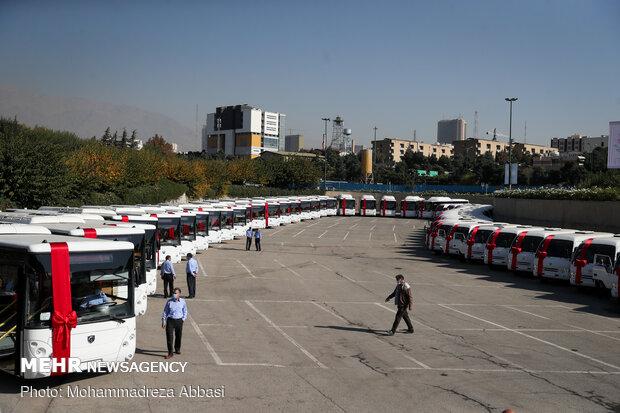 اتوبوسرانی به استقبال نوروز رفت/ به کارگیری ۲۱۰ اتوبوس جدید