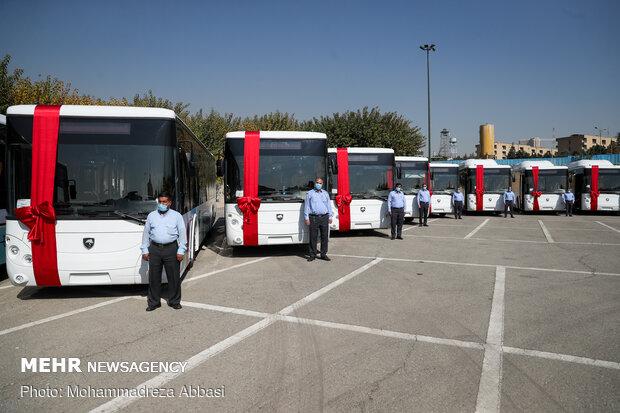 ورود ۵۰۰ دستگاه اتوبوس به چرخه ناوگان عمومی پایتخت تا پایان امسال