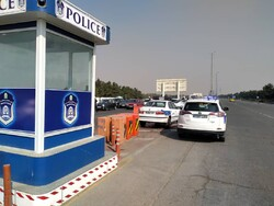 محل استقرار ماموران پلیس راهور/ تردد روان در محورهای منتهی به پایتخت