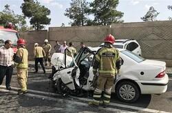 ایمن سازی ۳۰ نقطه حادثه خیز ترافیکی شمال تهران